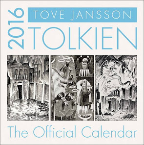 TOLKIEN CALENDAR 2016: Illustrations by 'Moomins' creator, Tove Jansson, to THE HOBBIT