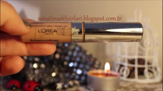 Aralık Ayı Favorileri / Ayın Favori Ürünleri - Loreal Paris True Match Concealer