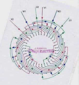june 2014 electrical winding wiring diagrams rh windingdiagrams blogspot com Four Pole Motor Motor Wiring Drawing