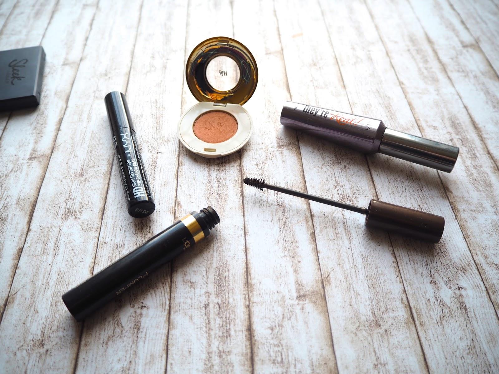Drugstore Makeup Edit, affordable makeup, hm beauty, russet rose, eyeshadow, loreal brow artist plumper, nyx