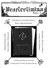 The Praeterlimina Zine, Issues I. and II. Now Available!