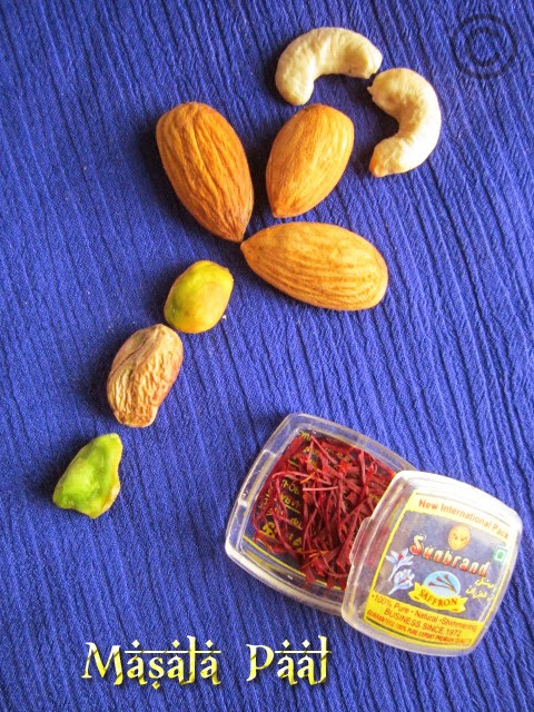 nuts-saffron-milk