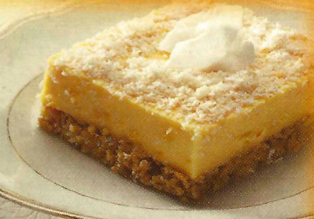 Celtnet Recipes Blog: Ginger and Coconut Custard Tart Recipe
