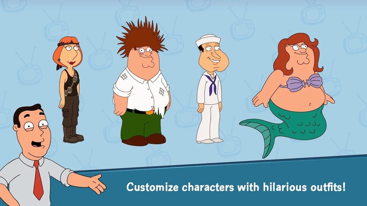 Family Guy Quest For Stuff v1.0.8 [Free Shopping]