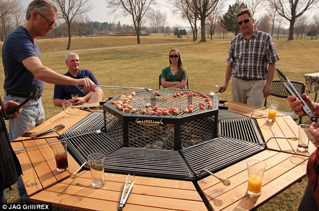 WOW ! This Barbecue Picnic Table Will Forever Change How You BBQ!