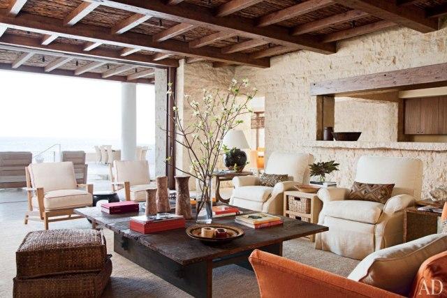 Casa rustica frente al mar rustic house front the sea - Decoracion casas rusticas modernas ...