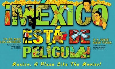 Cartel del Hola Mexico Film Festival 2011