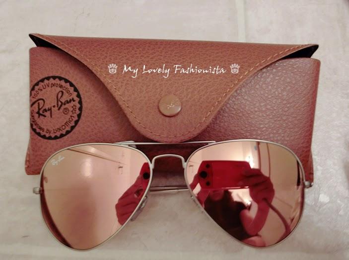 ray ban gold mirrored aviator sunglasses  Ray-Ban \u0027Original Aviator\u0027 58mm Sunglasses, Mirror Lens, Brown ...