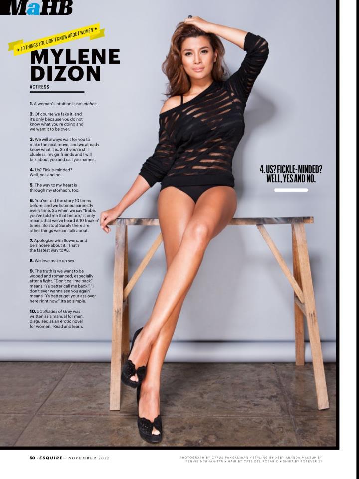 Andi eigenmann and the hot women of esquire november 2012 issue bida