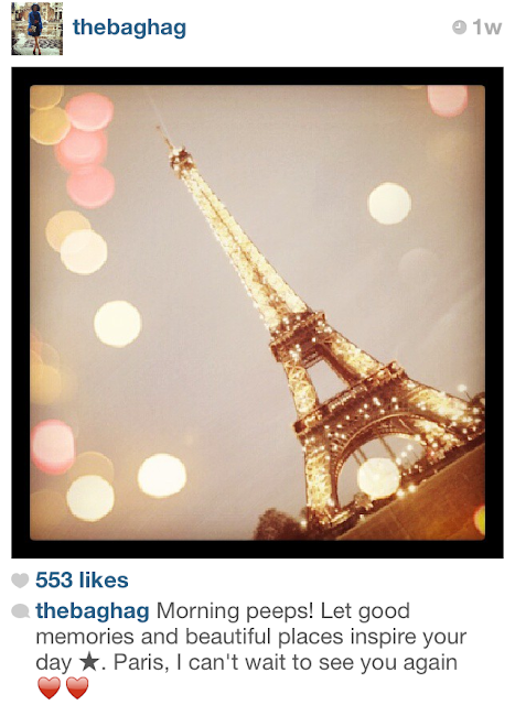instagram photo of the eiffel tower