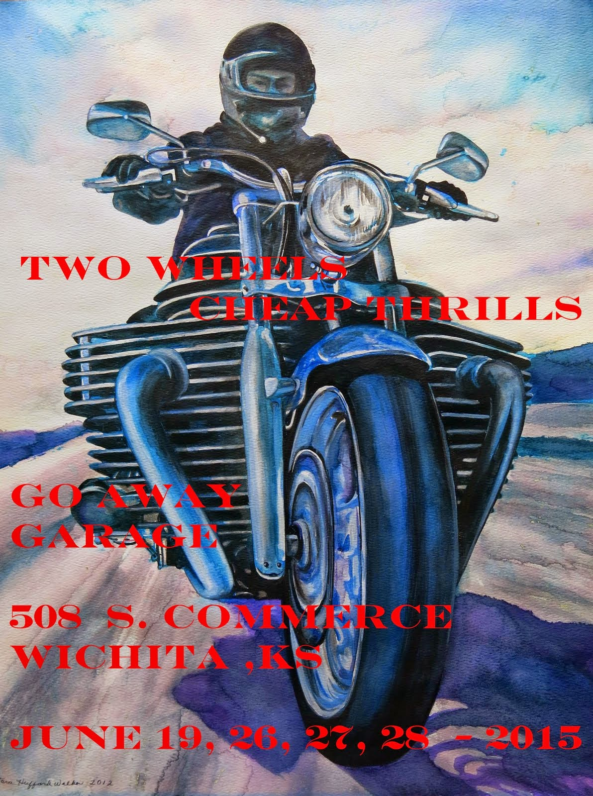 TWO WHEELS-CHEAP THRILLS