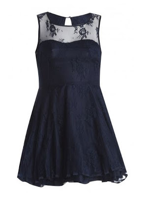 AX Paris black prom dress