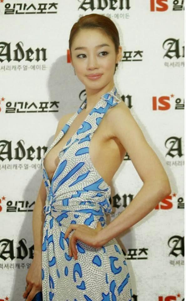 Fashion Separuh Bogel Artis KOREA Mampuh Kerah