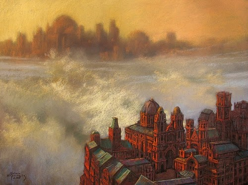 23-Nebulopolis-Marcin-Kołpanowicz-Painting-Architecture-in-Surreal-Worlds-www-designstack-co