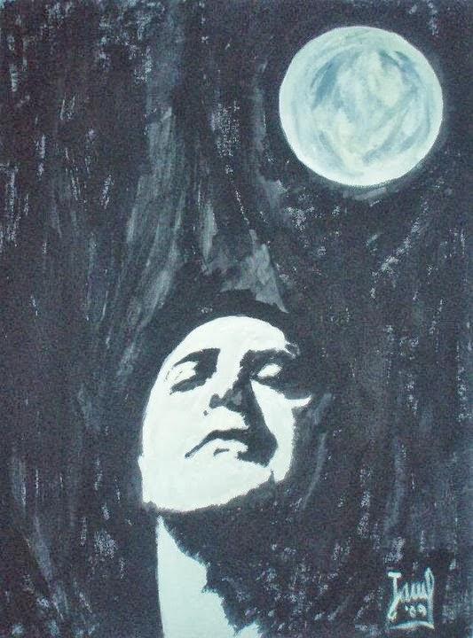 Con la luna...