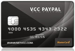 VCC PayPal 3 Tahun