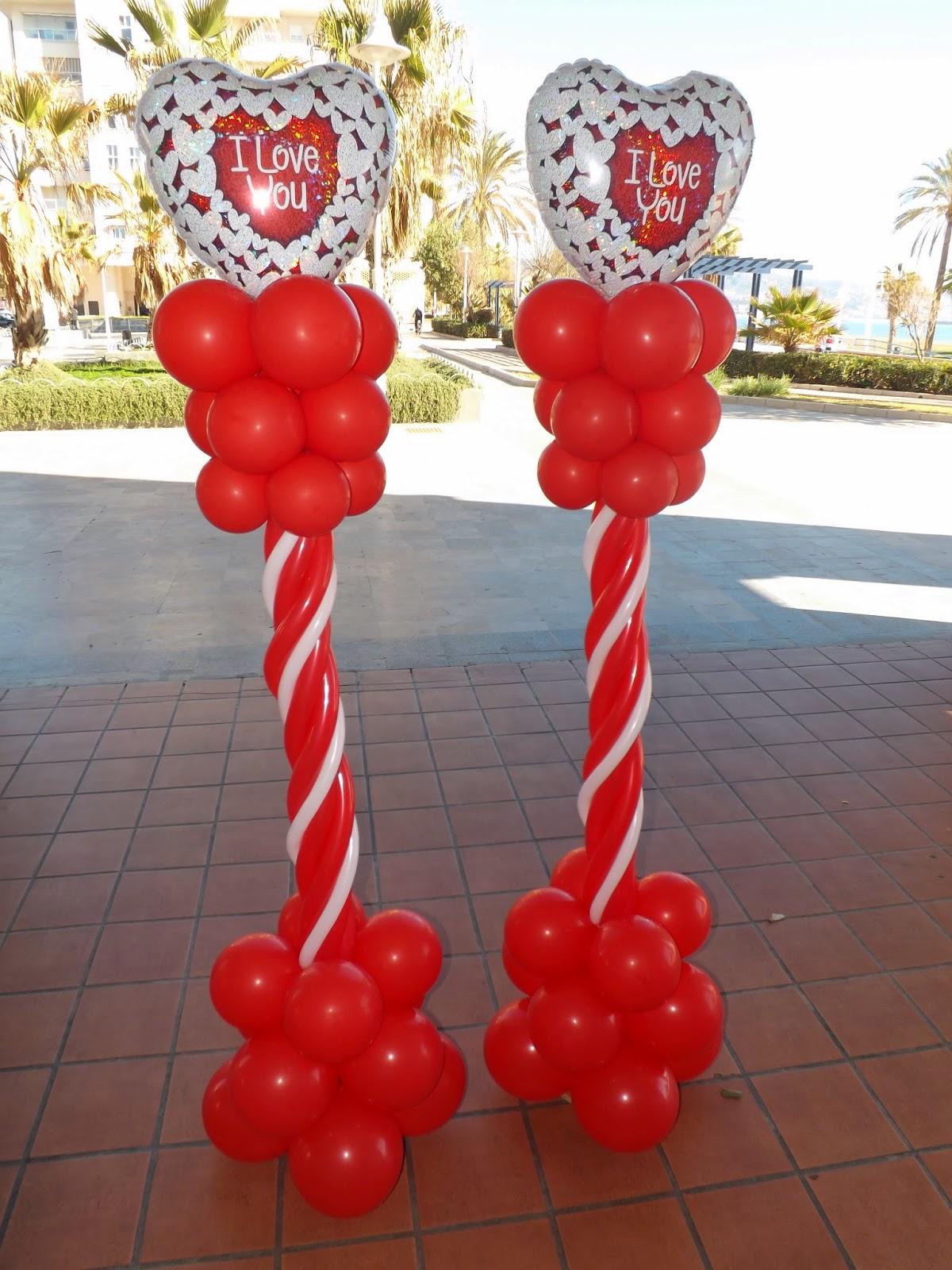 Decoraciones d 39 globos mayo 2014 for Decoracion de pared para san valentin