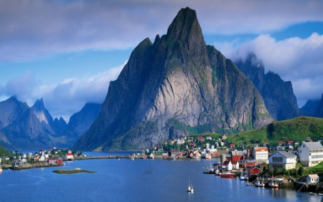 Gudvangen Fjordtell in Norway