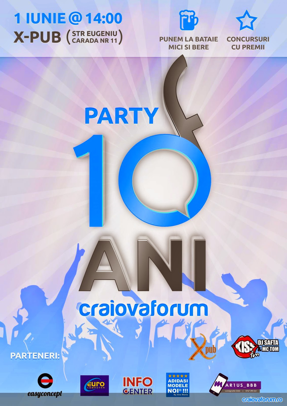 CraiovaForum: 10 ani si party aniversar