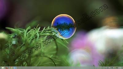 Windows 8 Bubbles Tema