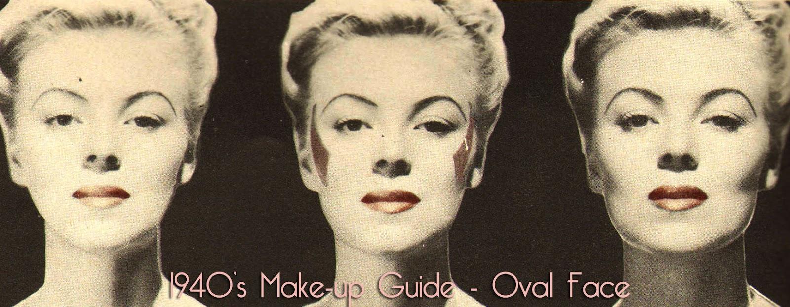 Vintage 1940s Beauty Secrets Hair And Face Contour Glamour Daze