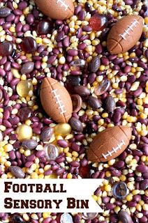 http://www.fantasticfunandlearning.com/football-sensory-bin.html