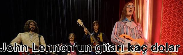 John Lennonun gitarı kac dolar