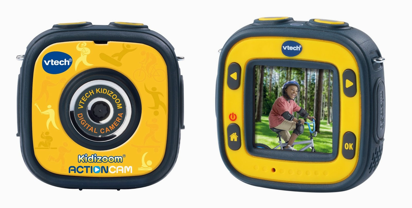 VTech Kidizoom Action Cam - yellow