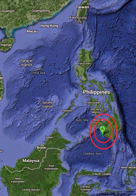 Magnitude 4.8 Earthquake of Sangay, Philippines 2014-09-27