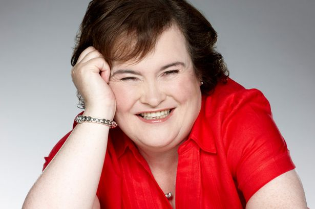 Susan Boyle - Lady in Red