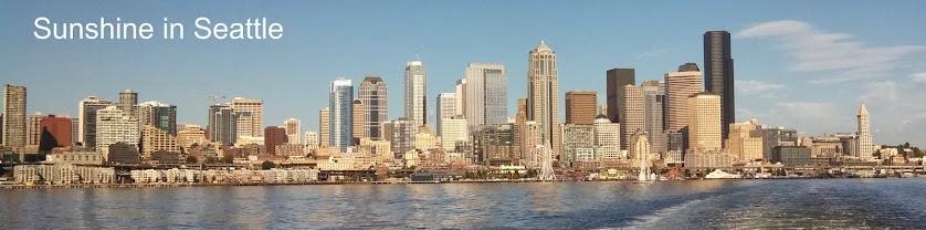 Sunshine in Seattle