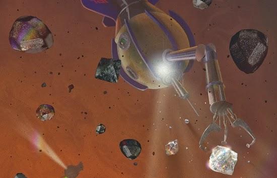 Hujan Berlian Mungkin Ada di Saturnus dan Jupiter