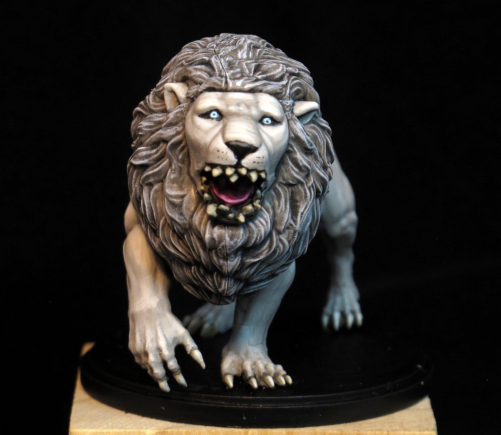 Paint Kingdom Death White Lion