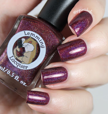 Lemming Lacquer Evil Isn't Born