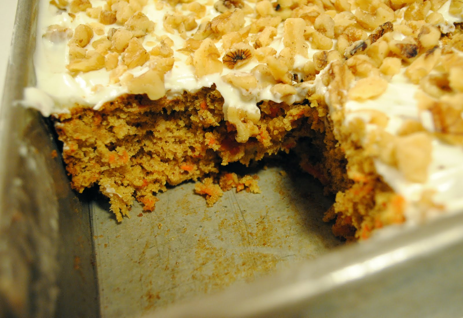 Country Woman Carrot Cake Recipe