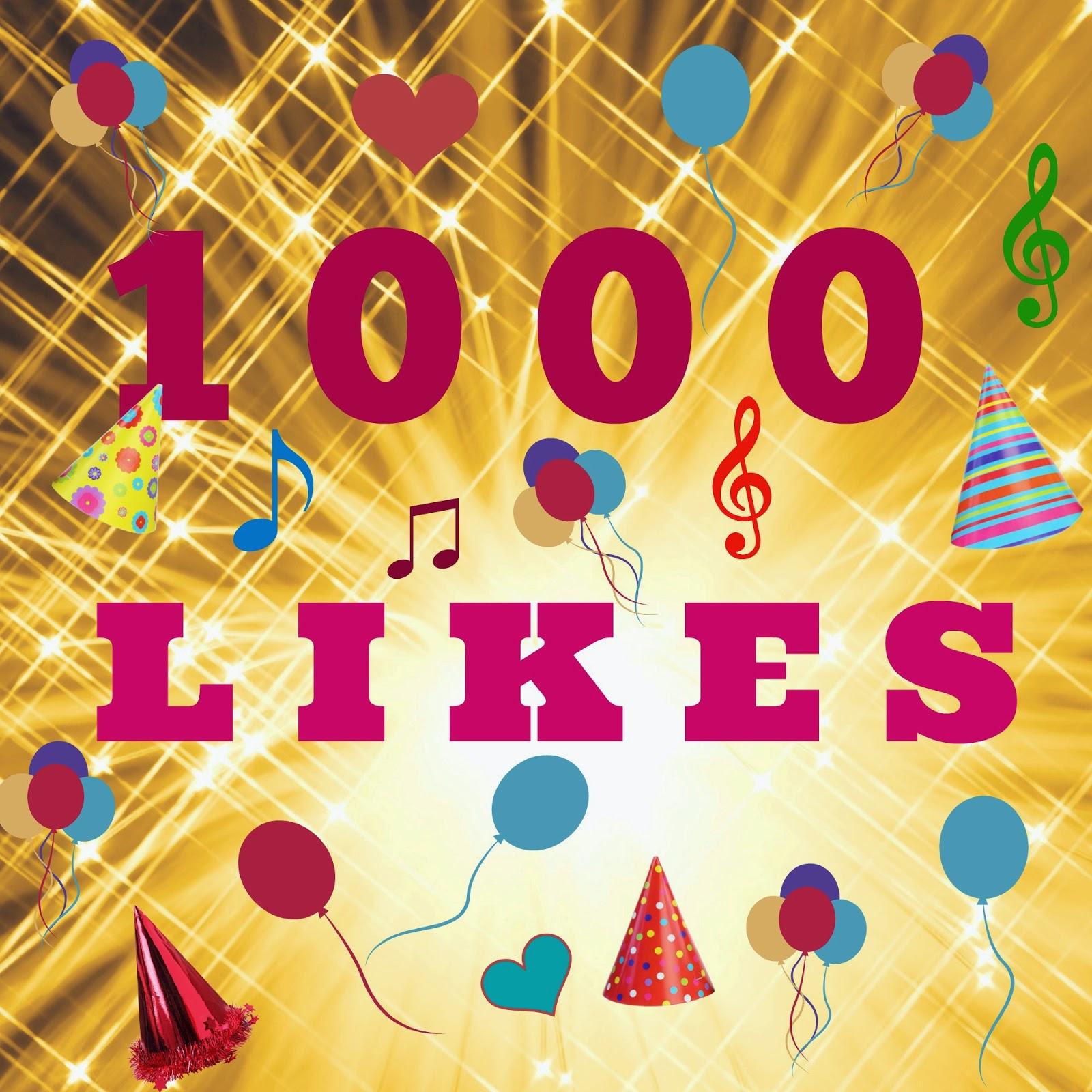 Crochetkari 1000 facebook likes