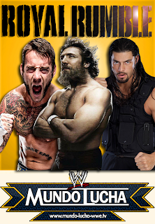 Cartelera Oficial De WWE Royal Rumble 2014