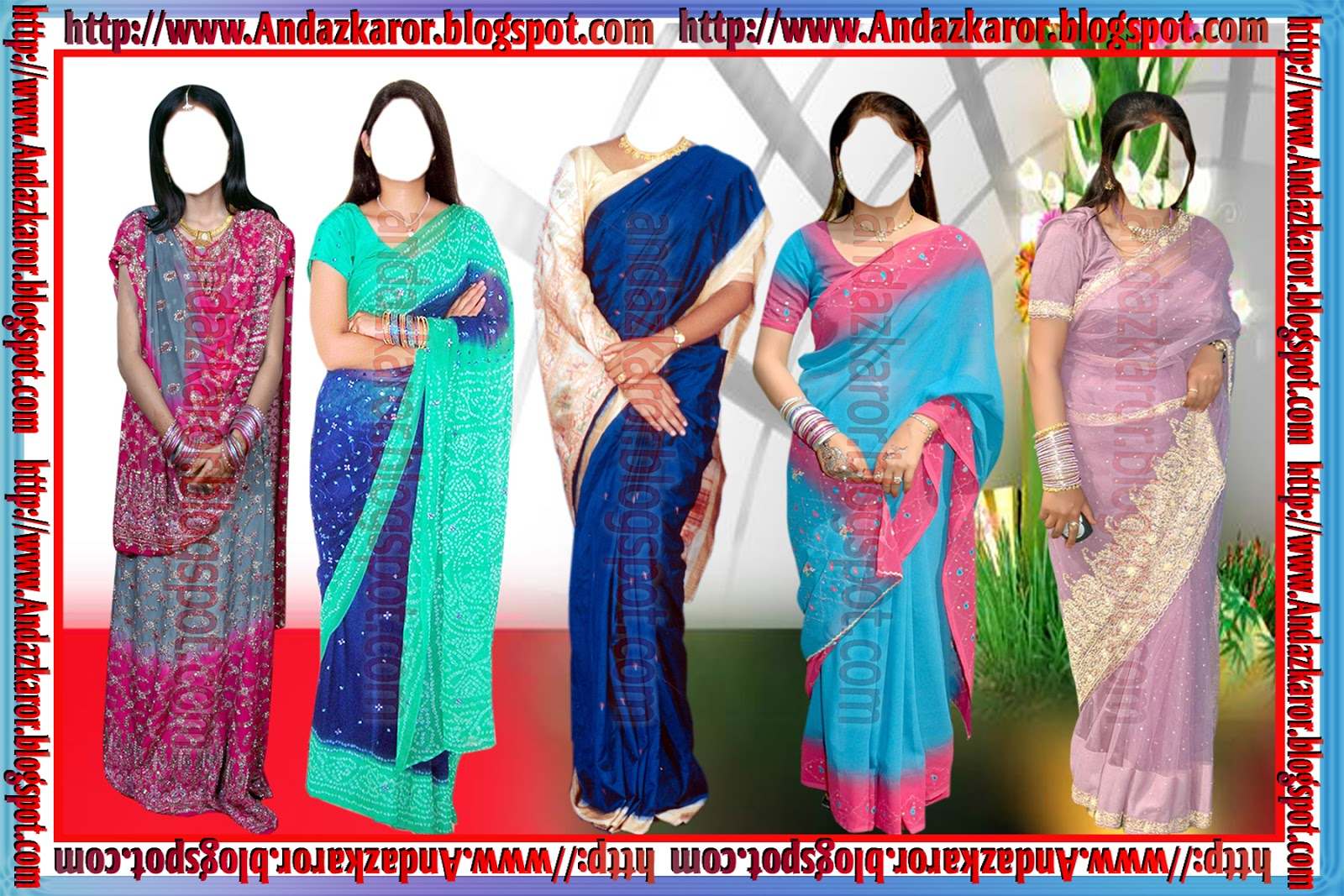 Andaz Digital Andaz Saree Dress Psd