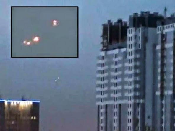 VIDEO: Avvistamenti Ufo nei cieli della Città di Khabarovsk (Russia )