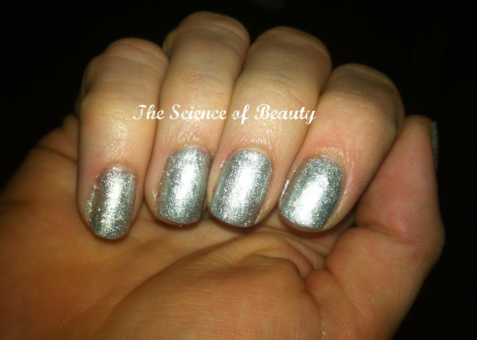 Science of Beauty: Gelicious Hybrid Gel Nail Colour swatch: Afterglow