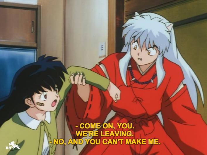 Subdued Fangirling Missing Nostalgia Inuyasha Episode 4 The Moral
