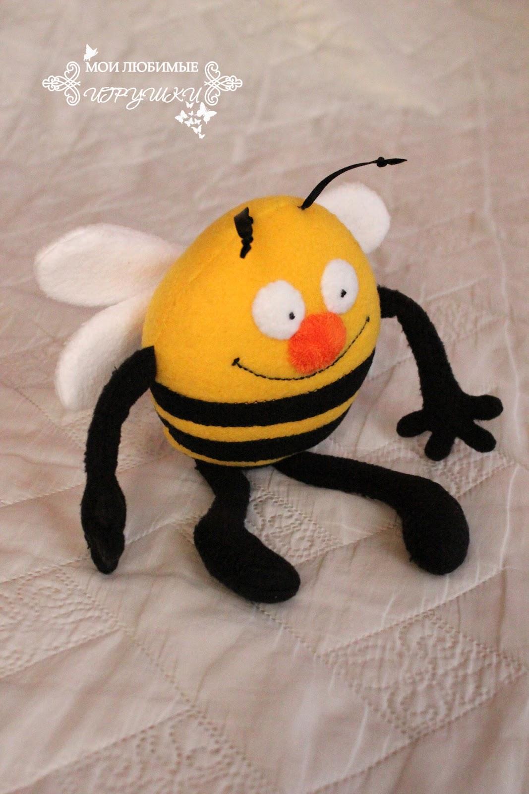 Как сделать своими руками пчелку на елку