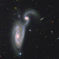 GTC image of Interacting Galaxies NGC 5395-94 aka Arp 84