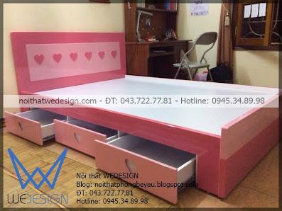 Giường ngủ 3 ngăn kéo MSP: G3NK - TT.01
