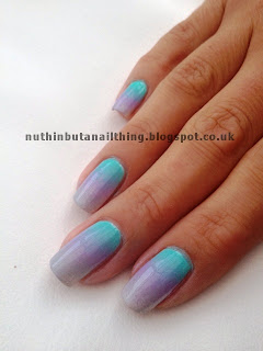 pastel gradient nail nails art