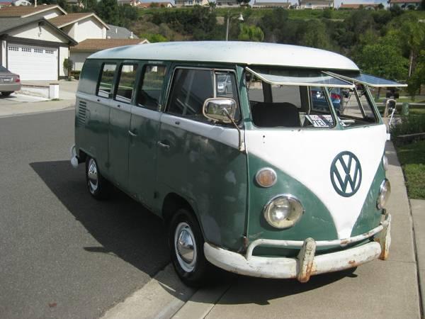 64 VW Bus Camper   vw bus wagon
