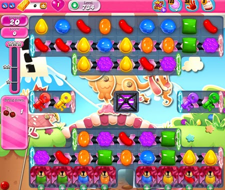 Candy Crush Saga 734