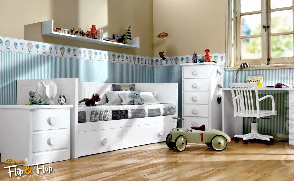Dormitorios infantiles para ni as ni os de 0 1 2 3 4 y 5 a os for Muebles de dormitorio infantil