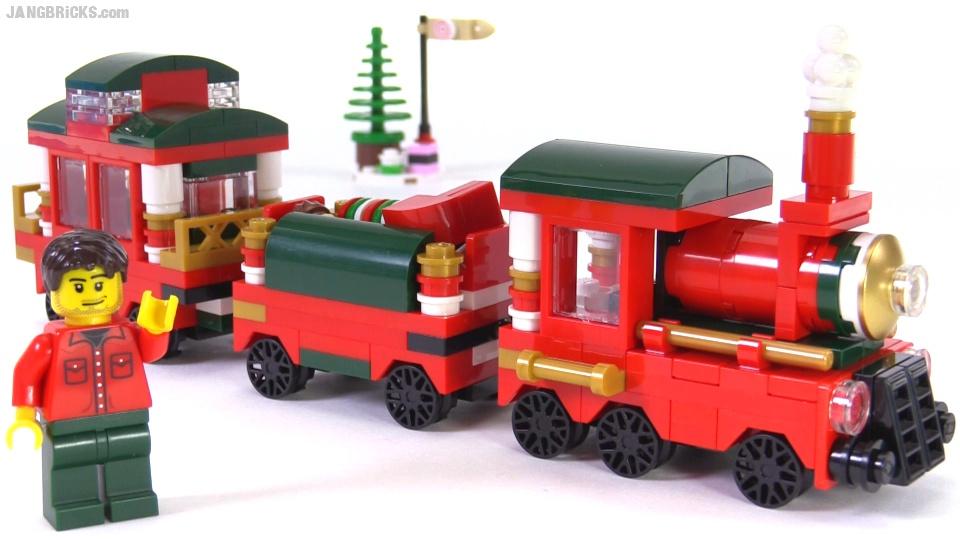 LEGO 2015 Christmas Train promo set set 40138 review!