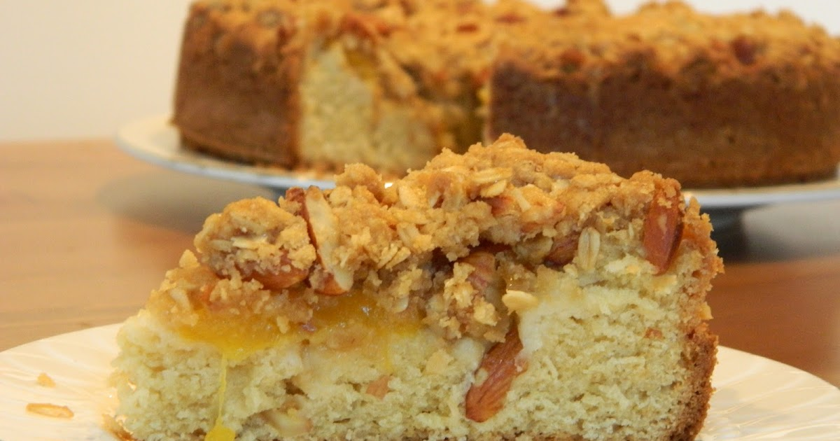 Delicious Peachy Coffee Cake